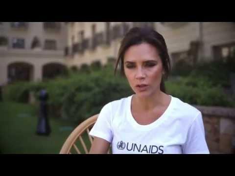 Victoria Beckham helps raise HIV awareness in Ethiopia