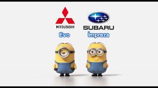 Mitsubishi Evo vs Subaru İmpreza