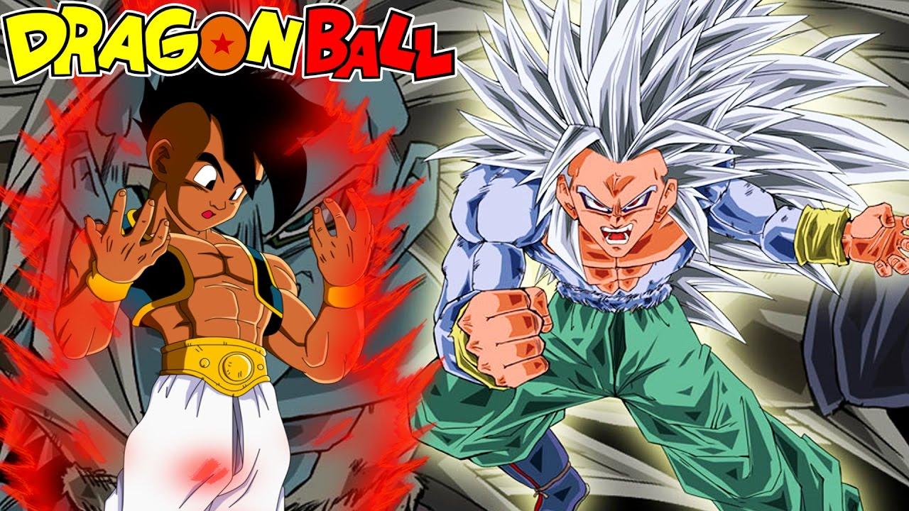 Dragon Ball Ex Chapters 15 16 Kaioken Uub Vs Evil Ssj5 Goku Uubs