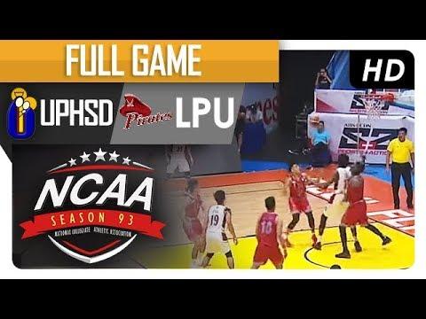 UPHSD vs. LPU | NCAA 93 | Full Game | 4th Quarter | August 4, 2017