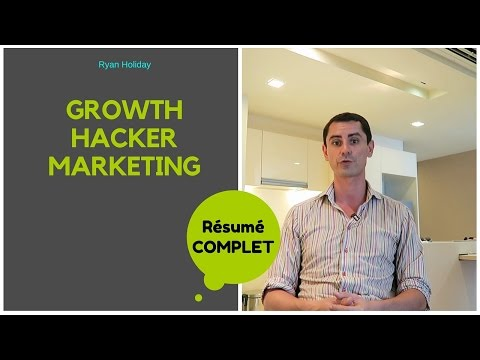 GROWTH HACKER MARKETING, mon résumé en Français