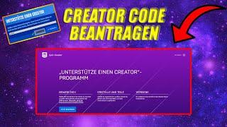 So bekommst du eiฑen Creator Code in Fortnite 2021!