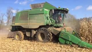 Video John Deere T670 - Kukorica aratás /Corn harvest/ 2016 download MP3, 3GP, MP4, WEBM, AVI, FLV Desember 2017