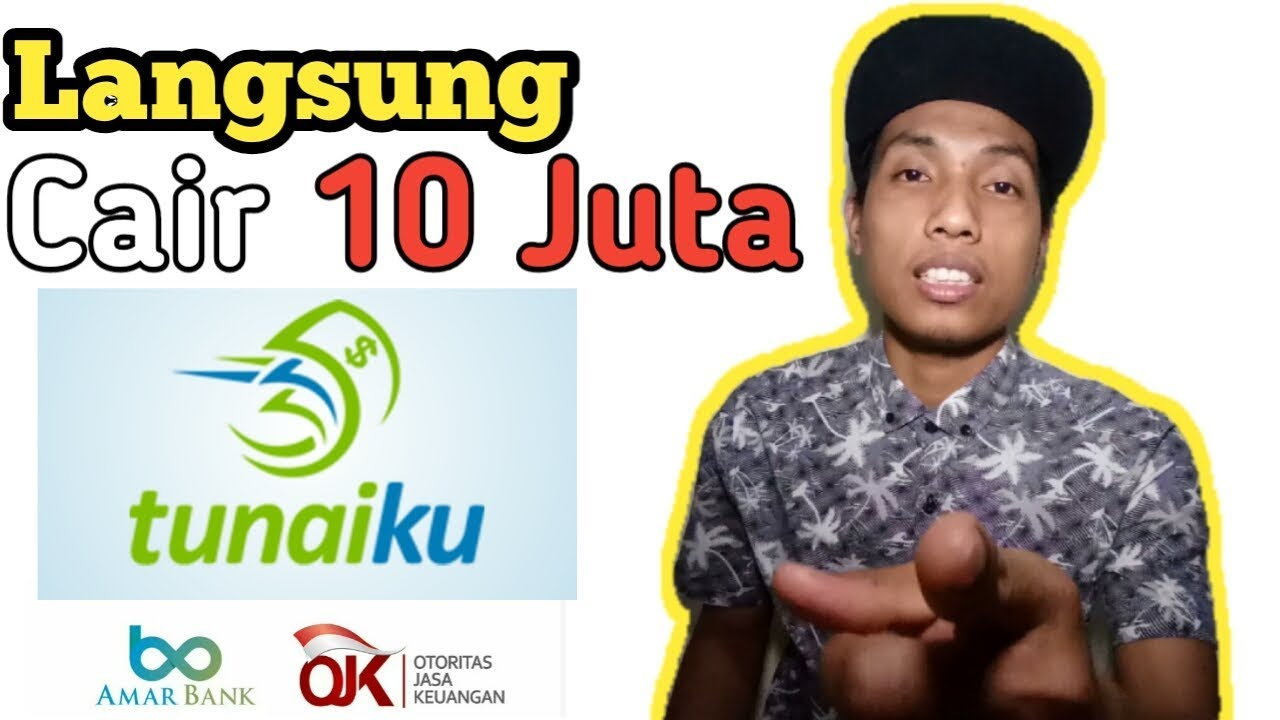 Pinjaman online cepat cair    Tunaiku Amar Bank - YouTube