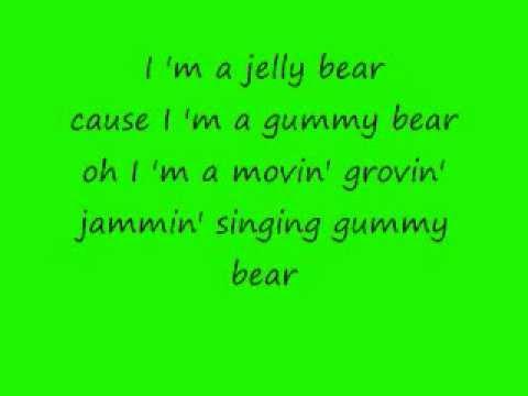 The Gummy Bear Song Lyrics.wmv
