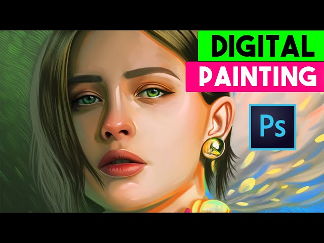 advanced color full digital painting in photoshop tutorial