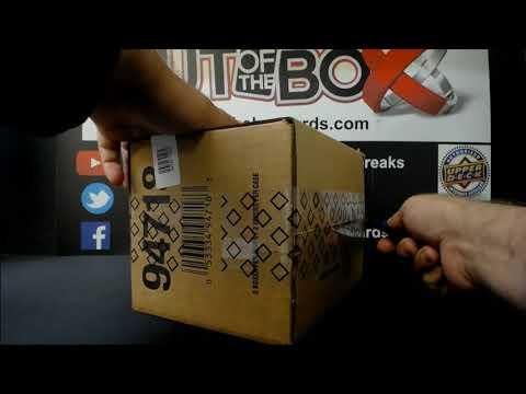 Out Of The Box Group Break #9336- 20-21 Black Diamond (5 Box) Inner Case Team Random