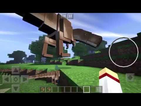 how to get jurassic craft on minecraft pe