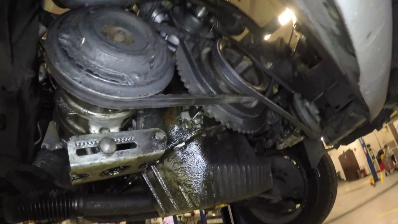 small resolution of m20 timing belt change