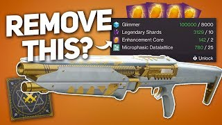 Revamped Masterwork Idea & Should Enhancement Cores Be Removed from Infusion? (Destiny 2) thumbnail