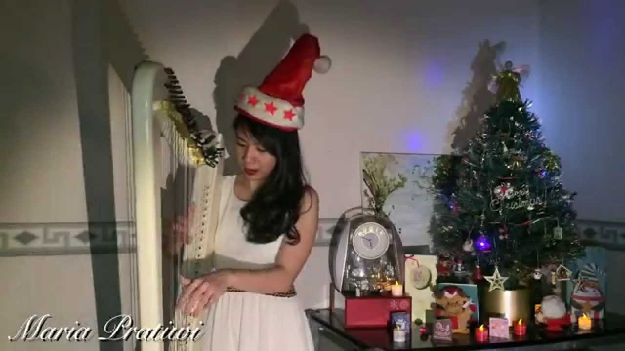 white christmas harp cover solo by maria pratiwi - When Did White Christmas Come Out