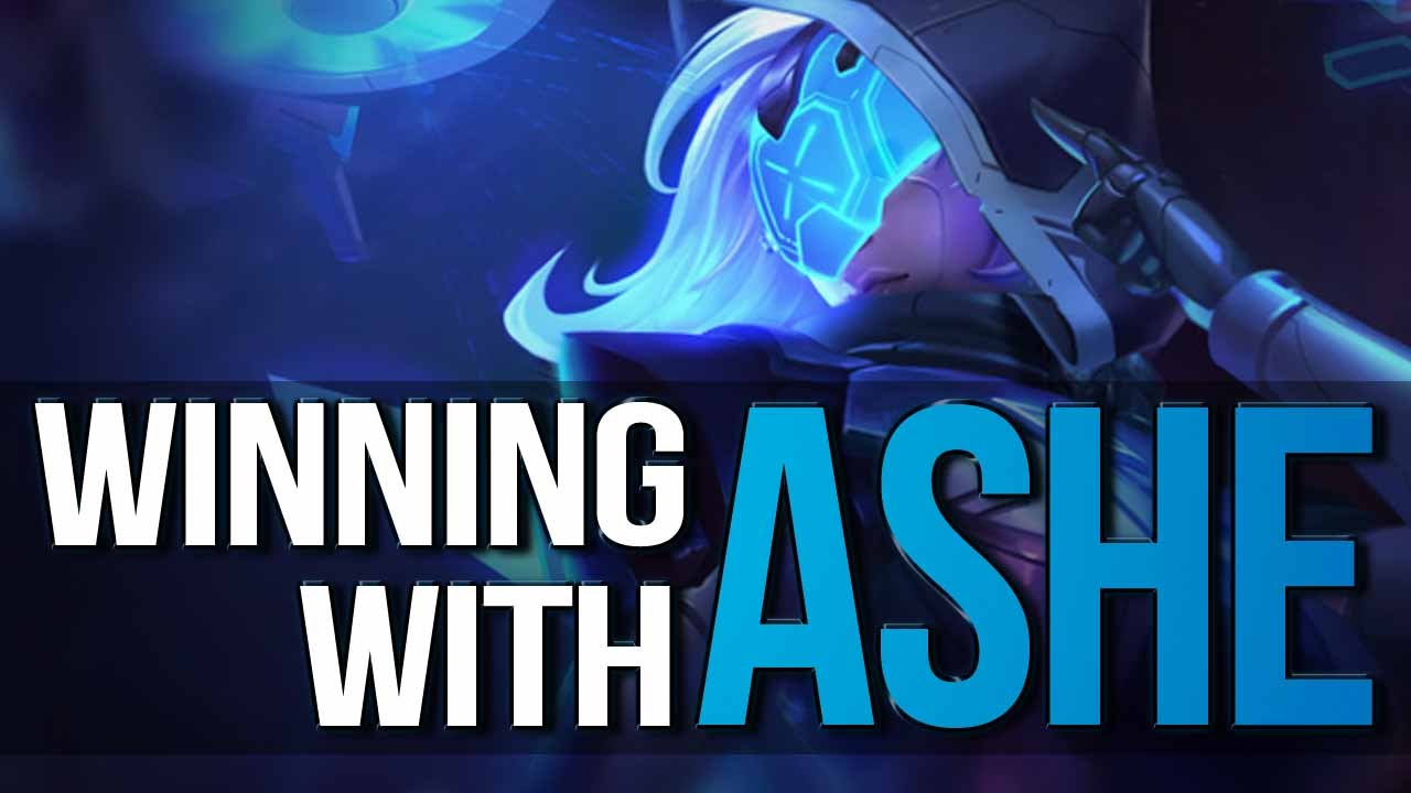WINNING WITH ASHE - Complete Guide to ASHE ADC (League of Legends) - YouTube