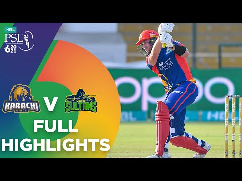 Full Highlights | Karachi Kings vs Multan Sultans | Match 9 | HBL PSL 6 | MG2T