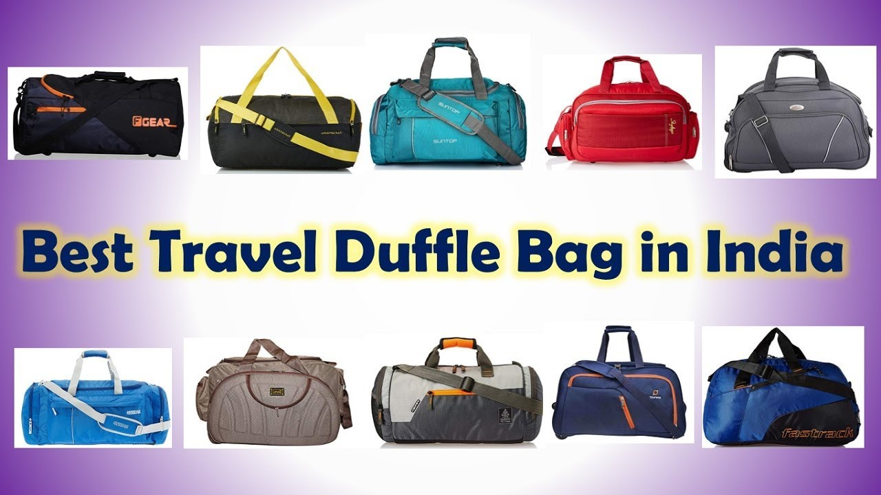 cf0d453d2f33 Best Travel Duffle Bag in India with Price - YouTube