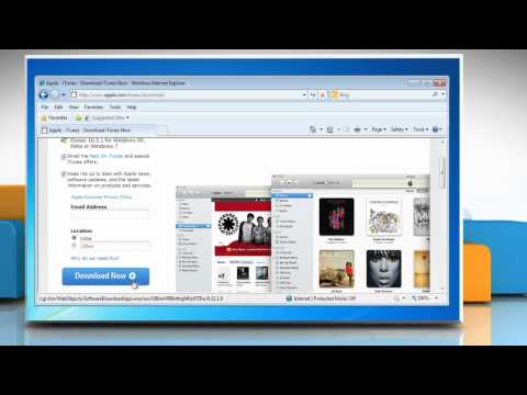 How to uninstall and reinstall iTunes® to fix issues related to it in Windows® 7?