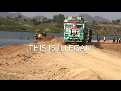 Illegal Sand Mining Goes On Despite NGT Ban