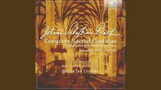 Der Friede sei mit dir, BWV 158: IV. Choral. Hier ist das rechte Osterlamm (Coro)
