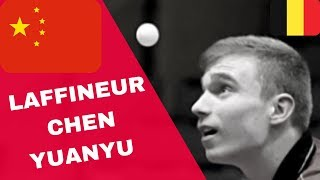 LAFFINEUR Louis - CHEN Yuanyu 1/2 CADETS ITALY OPEN TABLE TENNIS