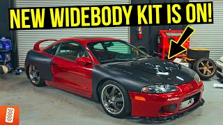 Building a Modern Day (Fast & Furious) 1998 Mitsubishi Eclipse GSX - Part 4 - Widebody Kit!