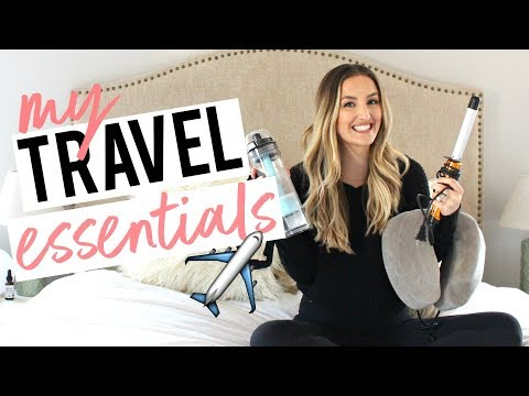 MY TRAVEL ESSENTIALS!