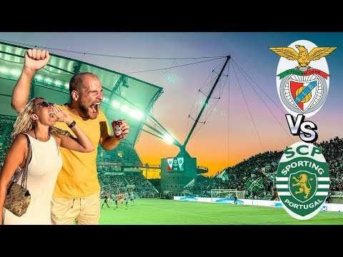 CRAZY Supertaça: Sporting Vs Benfica   FULL EXPERIENCE
