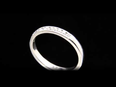 Vintage Style Diamond Wedding Ring Jewellers Dublin