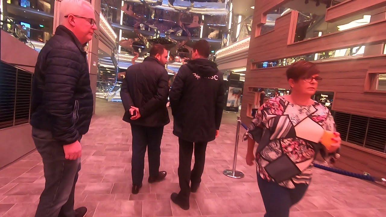 MSC Grandiosa Walk Through Deck 5 - YouTube