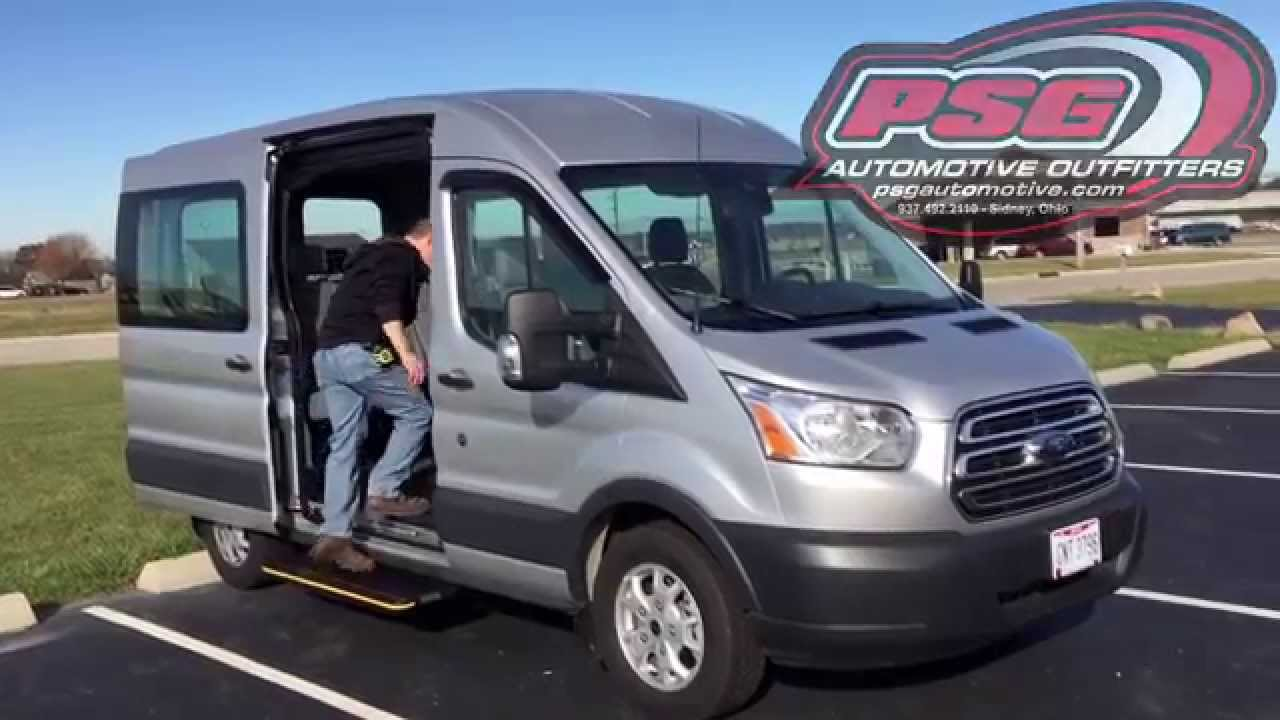 Transit Van Power Steps Install Youtube