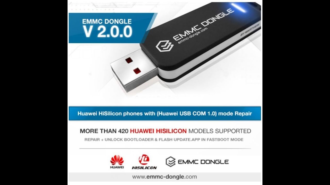 Huawei & Honor Hisilicon unbrick with Emmc dongle