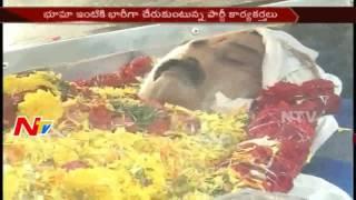 Bhuma Nagi Reddy Body Reaches Allagadda from Nandyal    AP    NTV