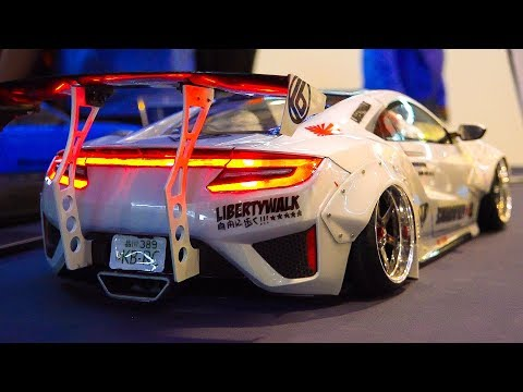 STUNNING RC DRIFT CARS IN DETAIL AND MOTION!! RC PAIR DRIFT COMPETITION, FERRARI, LAMBO