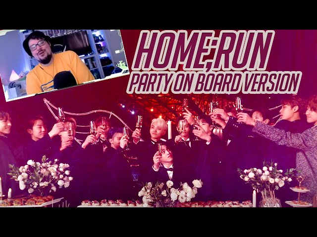 Mikey Reacts to SEVENTEEN(세븐틴) - HOME;RUN Party On Board Ver.