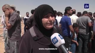 تشيع جثمان الطفل السوري الذي قتل في عمان بعد اغتصابه