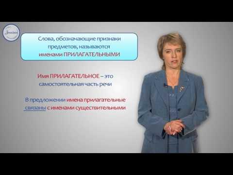 Русский язык 3 класс. Имя прилагательное как часть речи