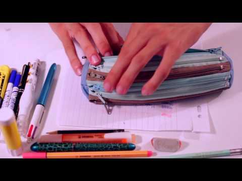 [ASMR] Pencil Case - NO TALKING