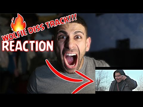 🔥REACTING TO WOLFIERAPS DISS TRACK - Check the Statistics Feat. Ricegum (Official Music Video) 🔥