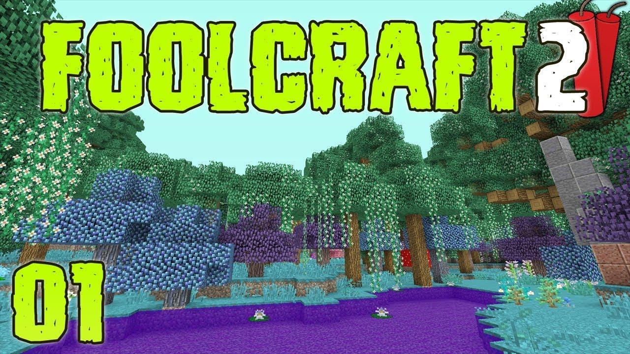 Minecraft: FoolCraft 2 Modded Minecraft