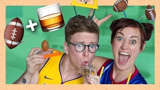 super bowl drinking game (ft. Mamrie Hart)