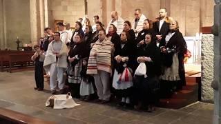 Cant de les Janeiras a la Catedral d'Urgell