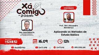 XaComigo #W37_21 - Como estudar a bíblia