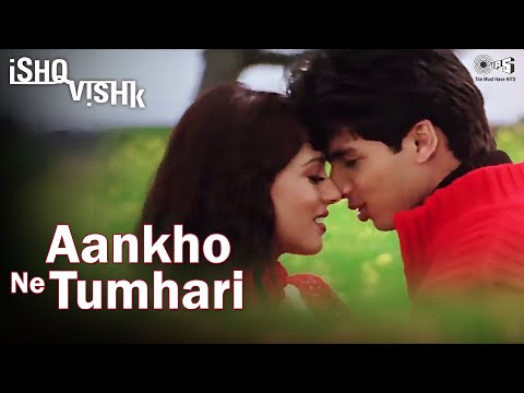 Aankhon Ne Tumhari Full Video - Ishq Vishk | Alka Yagnik & Kumar Sanu | Shahid Kapoor & Amrita Rao