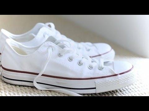 Tenis Blancos Truco Dejar Para Youtube Tus q8OAOw