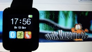 Smart Watch uWatch u8 u80 overview, обзор