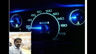 how to modify dashboard meter of Suzuki Khyber easily at your home -you tube