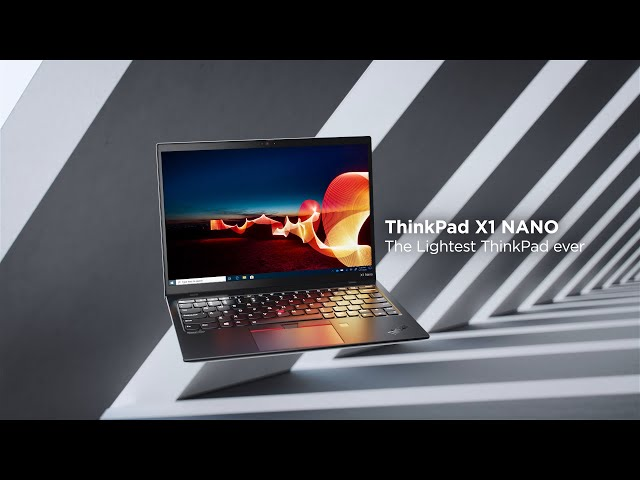 Lenovo ThinkPad X1 Nano Gen 1 Sizzle - The lightest ThinkPad ever