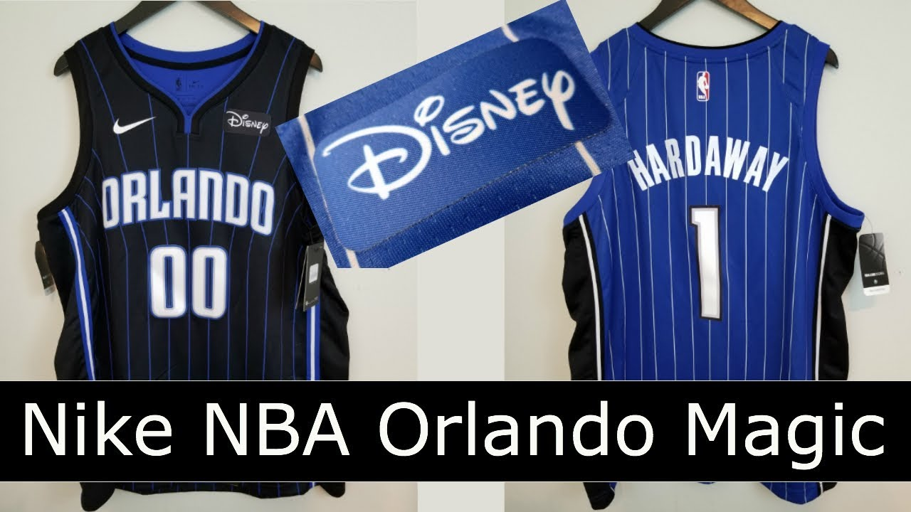 buy online aa48a 4482c Nike Orlando Magic Jersey with Disney Logo! Anfernee 'Penny' Hardaway &  Aaron Gordon Jersey Review
