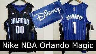 Nike Orlando Magic Jersey with Disney Logo! Anfernee