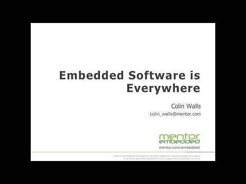 Embedded Software is Everywhere