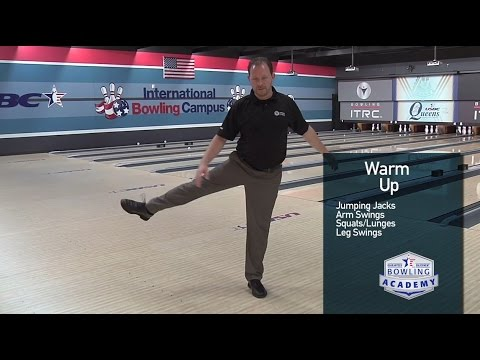 Proper Bowling Warm up and Cool down  |  USBC Bowling Academ