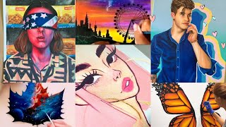 Tik Tok Painting  and Drawing Compilation | TOP Tik Tok